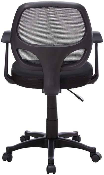 Nicer Interior - Mid-Back Black Mesh Computer Chair
