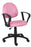 Perfect Posture Chair with Loop Arms in Pink