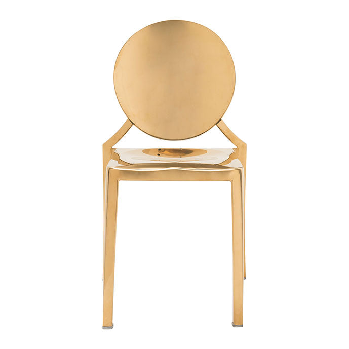 Eclipse Dining Chair Gold (Set of 2)