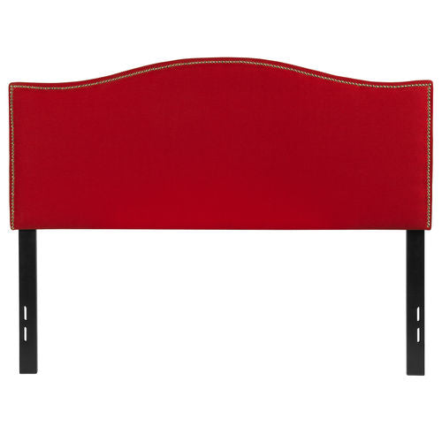 Nicer Furniture - Lexington Upholstered Full Size Headboard - Red