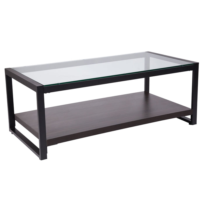 Nicer Furniture - Rosedale Glass - Coffee Table