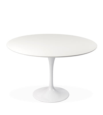 "43"" trumpet round dining table"