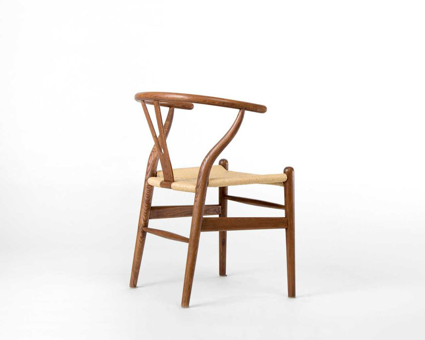 Hans Wegner - Wishbone Chair - Wood Chair Walnut