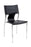 Modern Design Stacking Chair in Black (Set of 6)