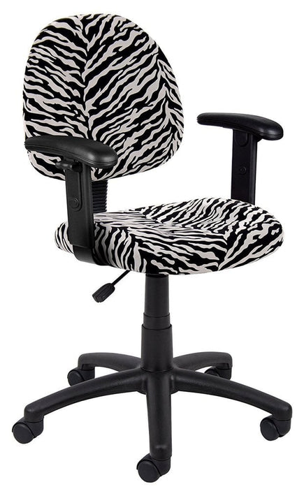 Microfiber Task Chair with Adjustable Arms