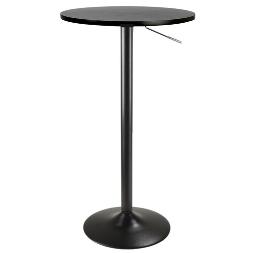 Bar Table With Rounded MDF Top And Adjustable Height