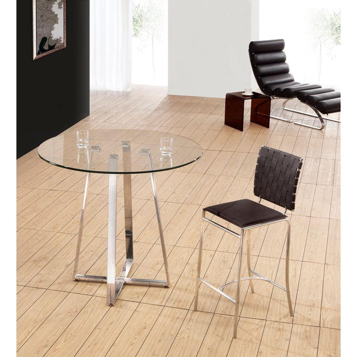 Criss Cross Dining Chair Espresso (Set of 4)
