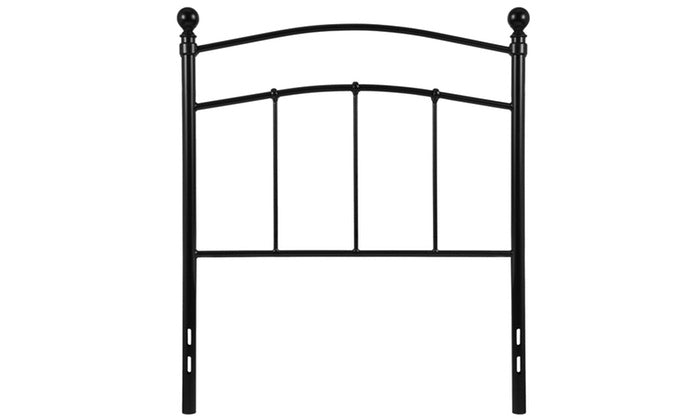 Nicer Furniture - Woodstock Black Metal -Twin Size Headboard
