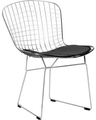 Wire Dining Chair Chrome (Set of 2)