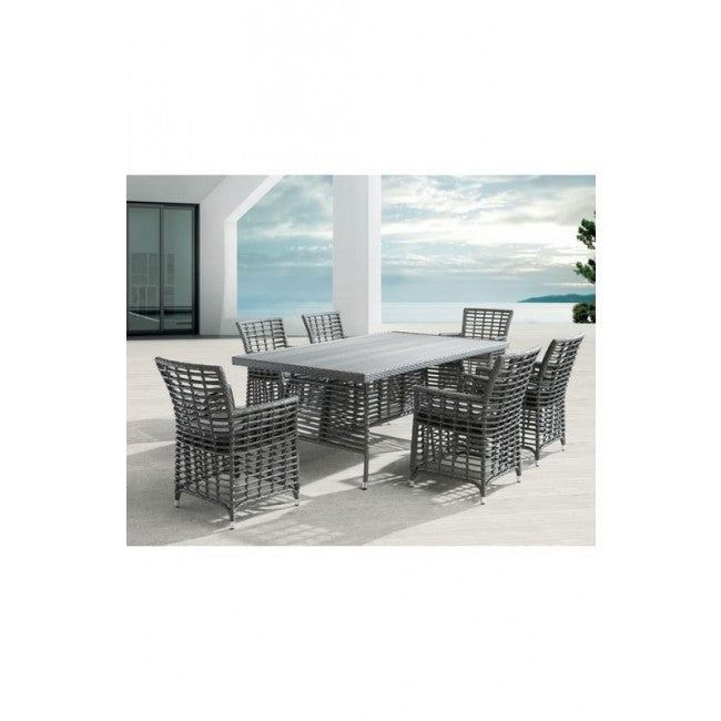 Sandbanks Dining Chair Gray (Set of 2)