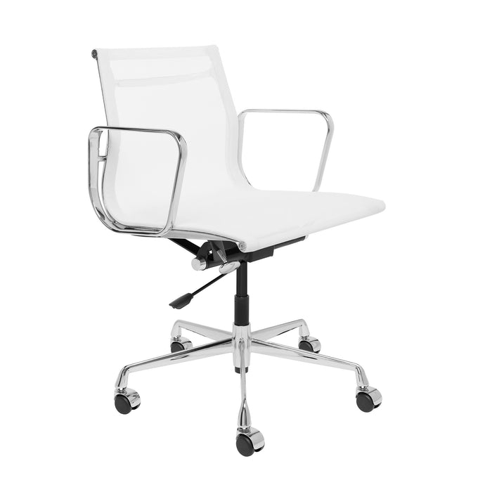 Eames Executive Office Chair Tilt Adjustable Seat - Low Back Mesh Chair