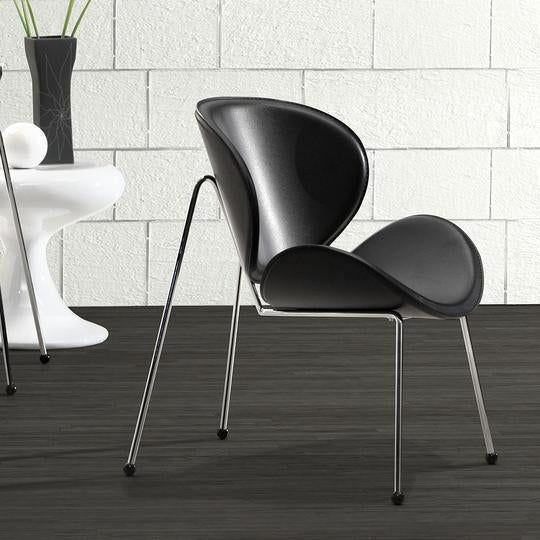 Match Chair Black (Set of 2)