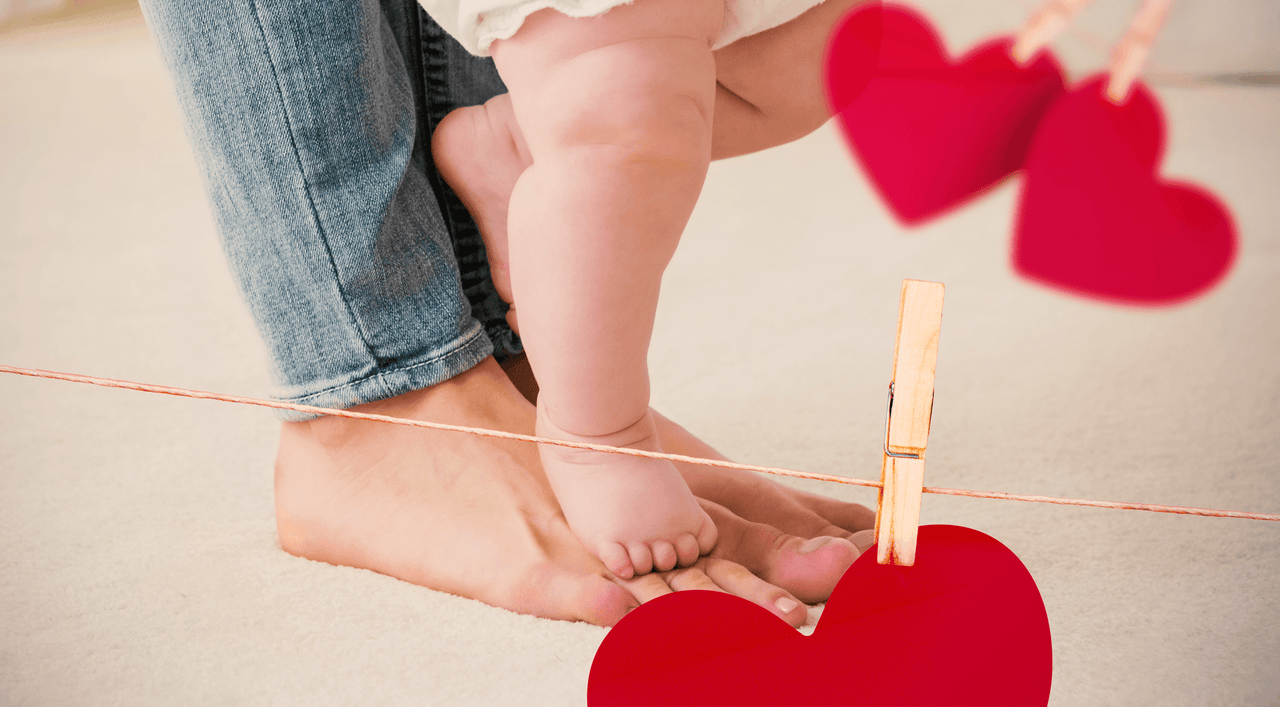5 Comforting Thoughts for New Moms on Valentine's Day