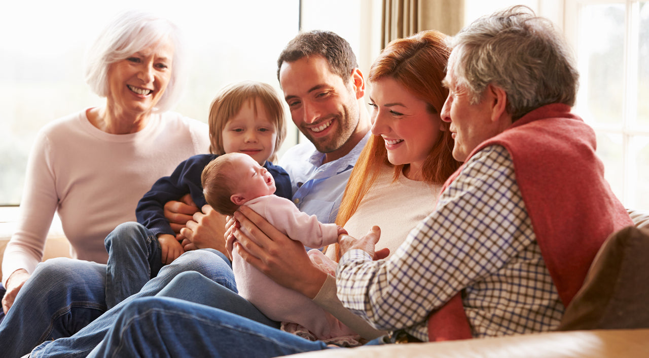Grandparents, Babies & Breastfeeding: The 4 Things You Should Know