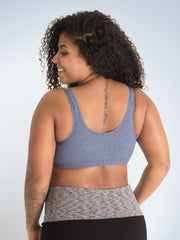 The Meryl Cotton Front-Closure Leisure Bra