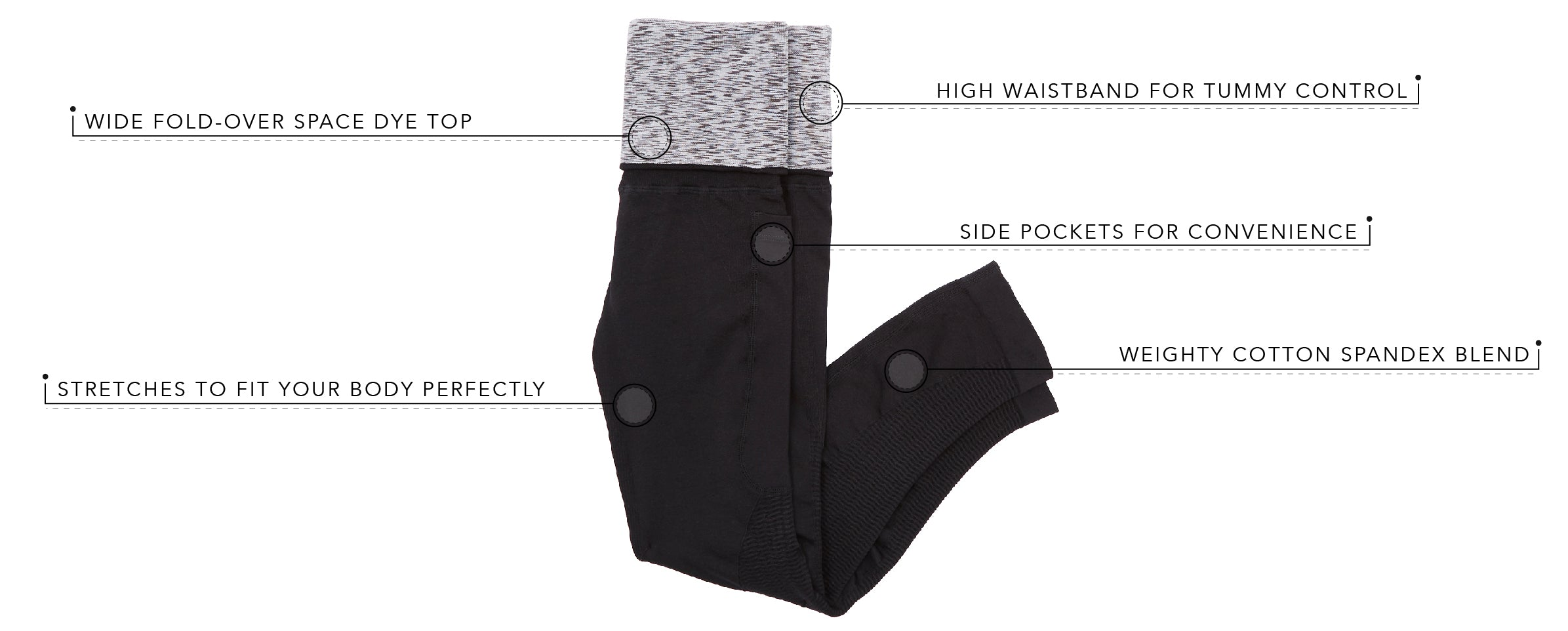 Control High-Waist Legging | 5700 - Product Detail View