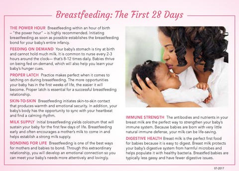 Breastfeeding: The First 28 Days