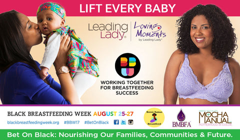 Leading Lady and Loving Moments Support Black Breastfeeding Week to Help Nourish Families, Communities and Futures