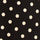 Black/Tan Dot Swatch