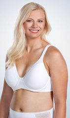 The Brigitte Luxe Wirefree - T-Shirt Full Figure Bra | 5211