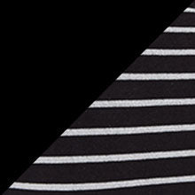 Jet Black & Black Grey Stripe 2PK