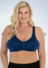 The Marlene - Zig-Zag Weave Front-Closure Leisure Bra | 151
