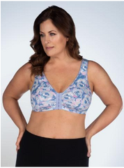 The Meryl - Cotton Front-Closure Leisure Bra | 110