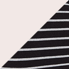 Natually Nude & Grey Black Stripe 2PK