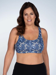 The Serena - Wirefree Sport Full Figure Bra | 514