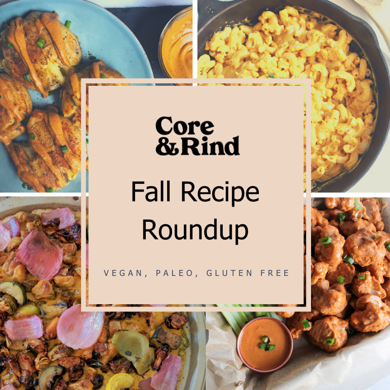 Fall Recipe Roundup 🍂