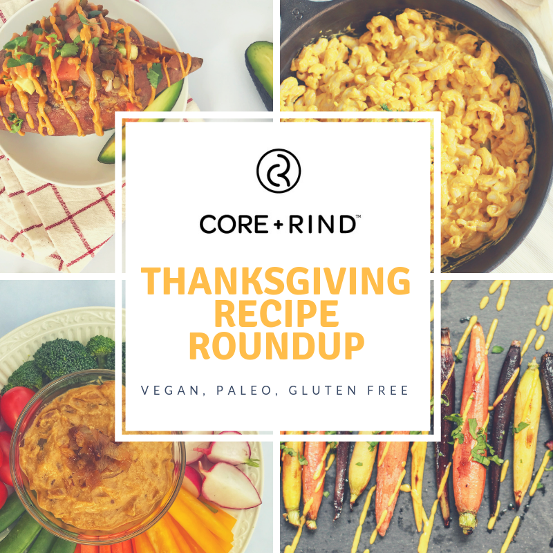 Thanksgiving Recipe Roundup (Vegan + Paleo Friendly!)