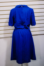 1970s Blue Day Dress