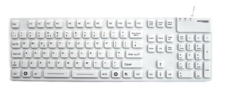 Accuratus KYBNA-SIL-105C Medical Keyboard Review