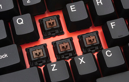 Cherry MX Switches - the BROWN Switch