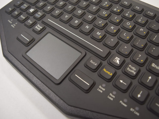 iKey BT-870-TP Dual Connectivity Bluetooth Keyboard