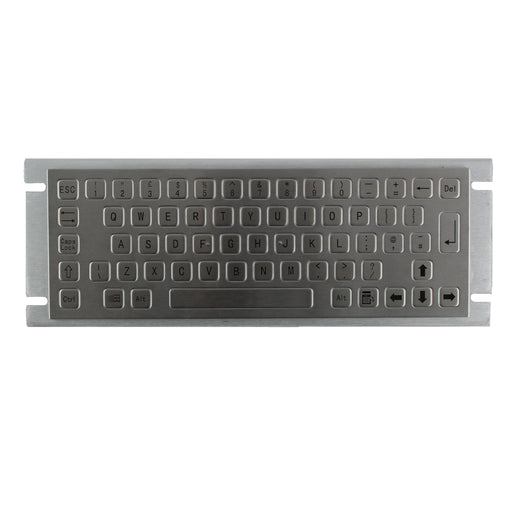 KBS-PC-A Panel Mount Stainless Steel Keyboard