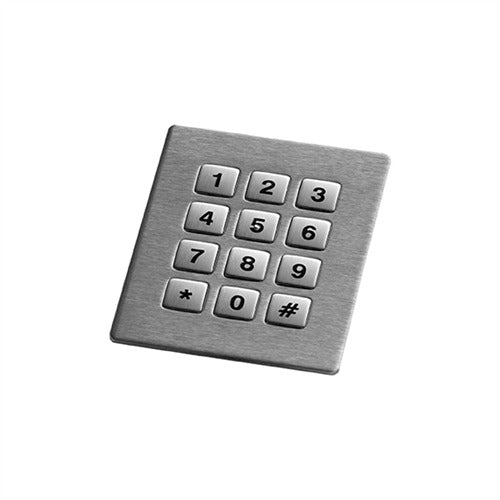 GrafosSteel-12-Square-Key Number Pad