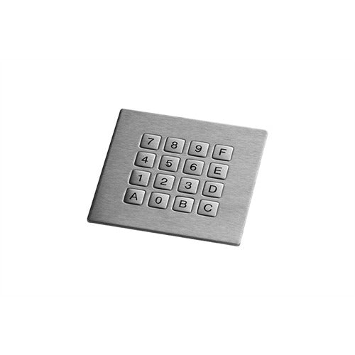 GrafosSteel-16-Square-Key Keyboard