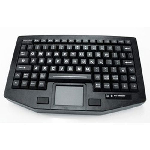 iKey FT-88-911-TP Full Travel Keyboard with Integrated Touchpad