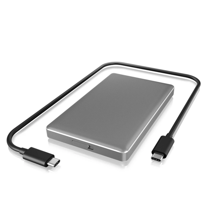 "ICY BOX USB Type-C™ enclosure for 2.5"" HDD/SSD"