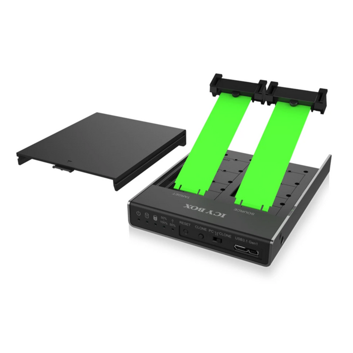 ICY BOX Docking and Clone Station for M.2 SATA SSDs