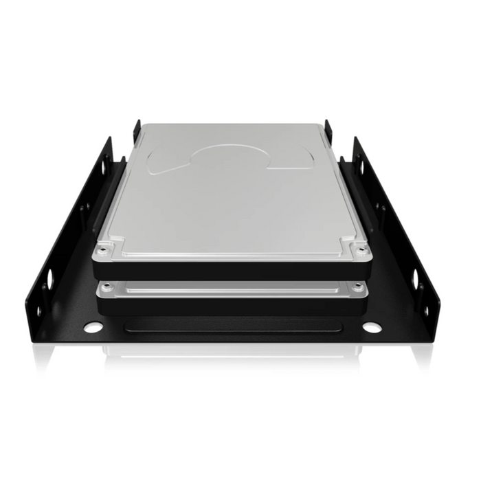 "ICY BOX Internal Mounting frame for 2x 2.5"" SSD/HDD in a 3.5"" Bay"