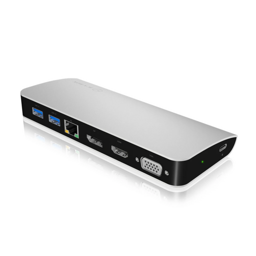 ICY BOX USB Type-C™ DockingStation with triple video output
