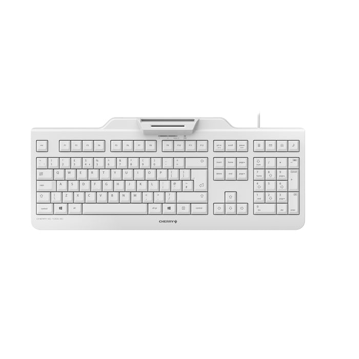 CHERRY KC 1000 (JK-A0100) Keyboard with Integrated Chip and Pin Reader
