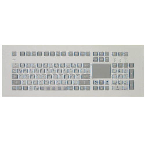 Gonnheimer KB153.2 Industrial Panel Mount Keyboard with Touchpad