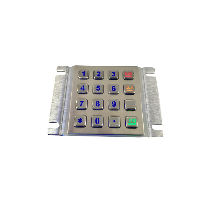KBS-KP-2088B-LED Stainless Steel Keypad