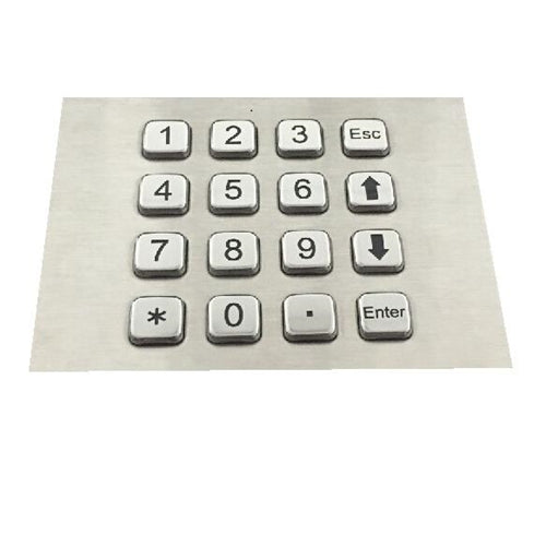 KBS-KP-2088H Top Mounted Stainless Steel Keypad