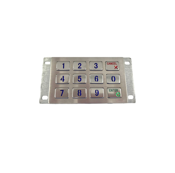 KBS-KP-2120-LED Stainless Steel Keypad