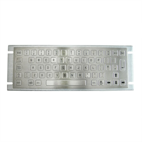 KBS-PC-A Stainless Steel Keyboard