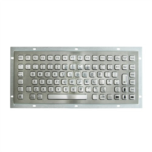KBS-PC-F1 Stainless Steel Keyboard with FN Keys